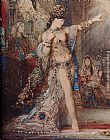 Gustave Moreau The Apparition [detail] painting